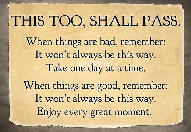 JC Project Freedom This too shall pass