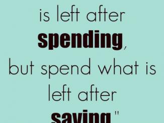 JC Project Freedom Spending vs Saving